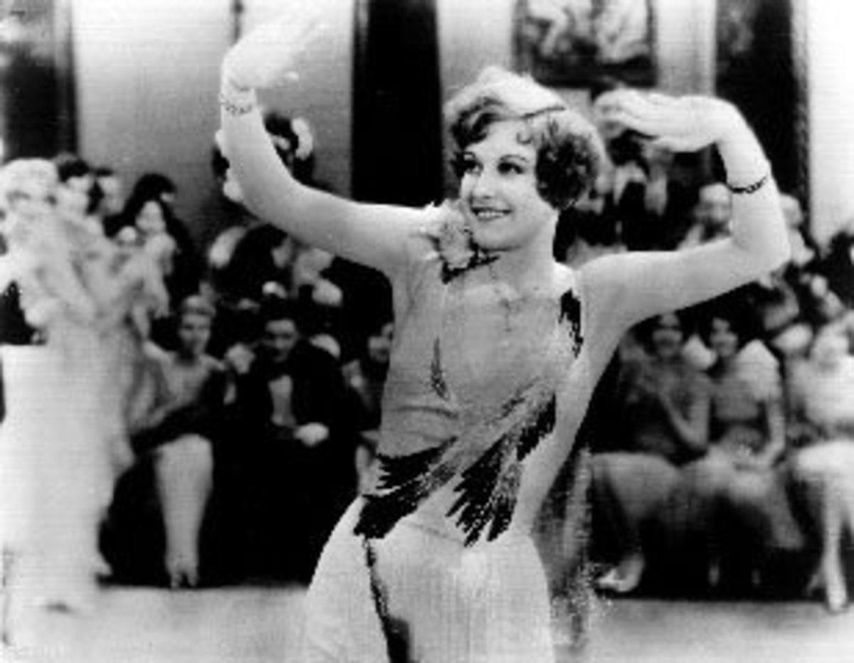 """Joan Crawford in """"Our Dancing Daughters"""""""