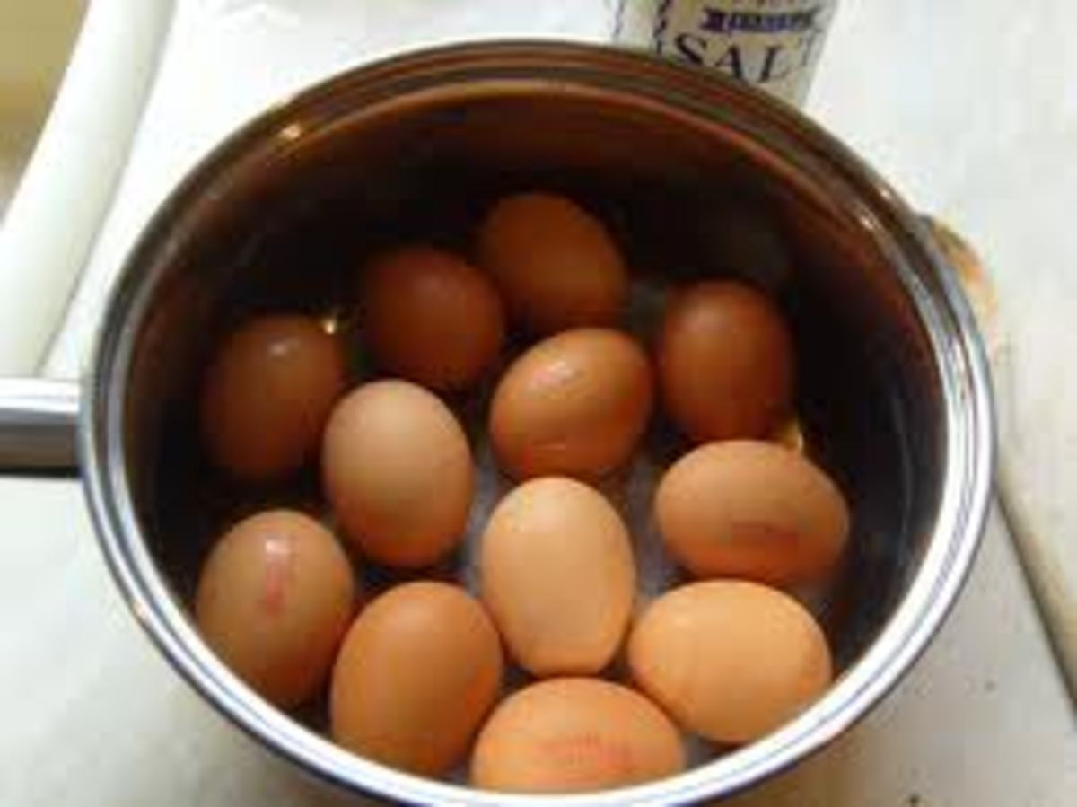 The Cook in Me:  How (or How Not) to Boil an Egg©