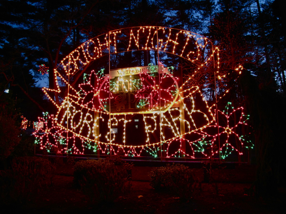 Bright Nights at Forest Park, Springfield, Massachusetts