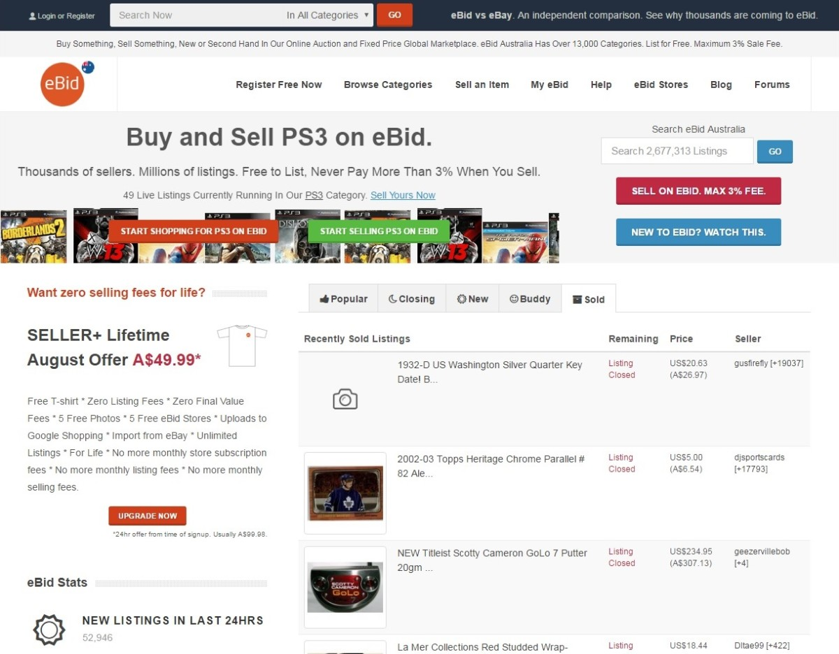 10 sites like ebay other websites to buy and sell on for Buy and sell online sites