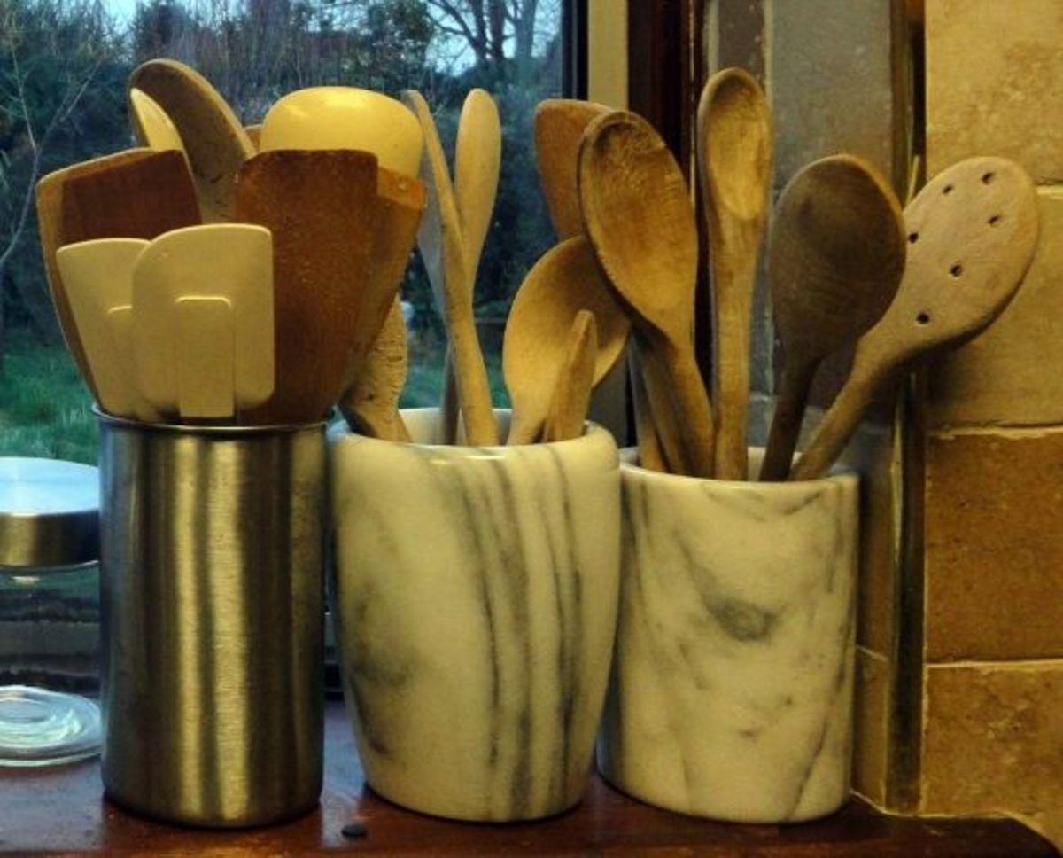 Storage Pots for Utensils