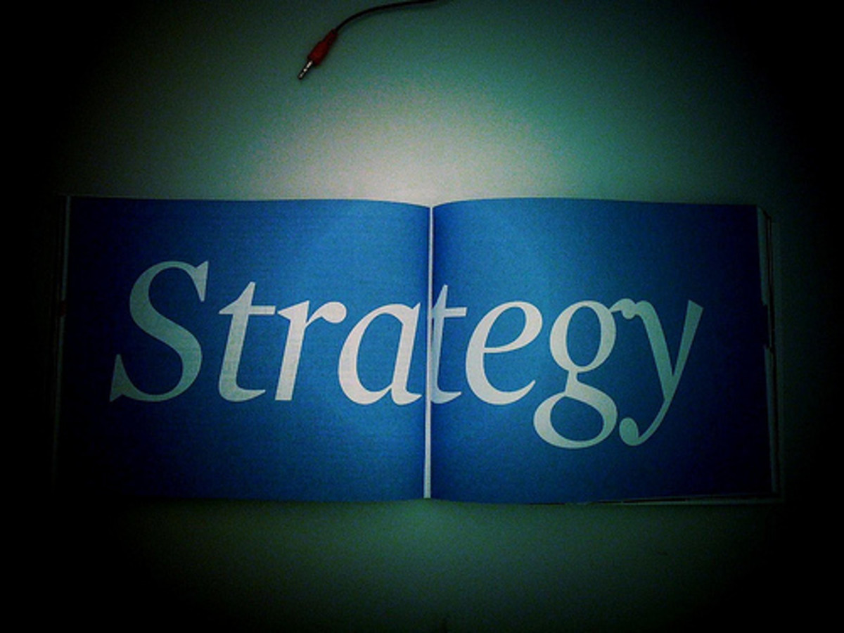 A strategy is just nothing without a strategist