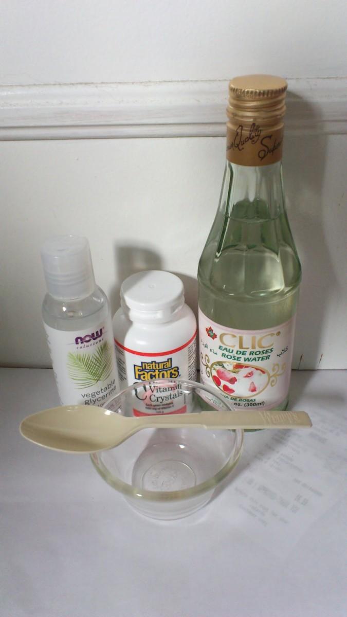 Homemade Anti-Aging Serum With Vitamin C