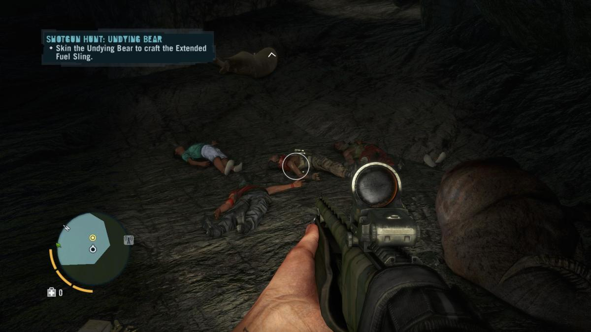 Far Cry 3 Crafting Guide - Extended Rucksack: People Plus Buffalo Avenged!