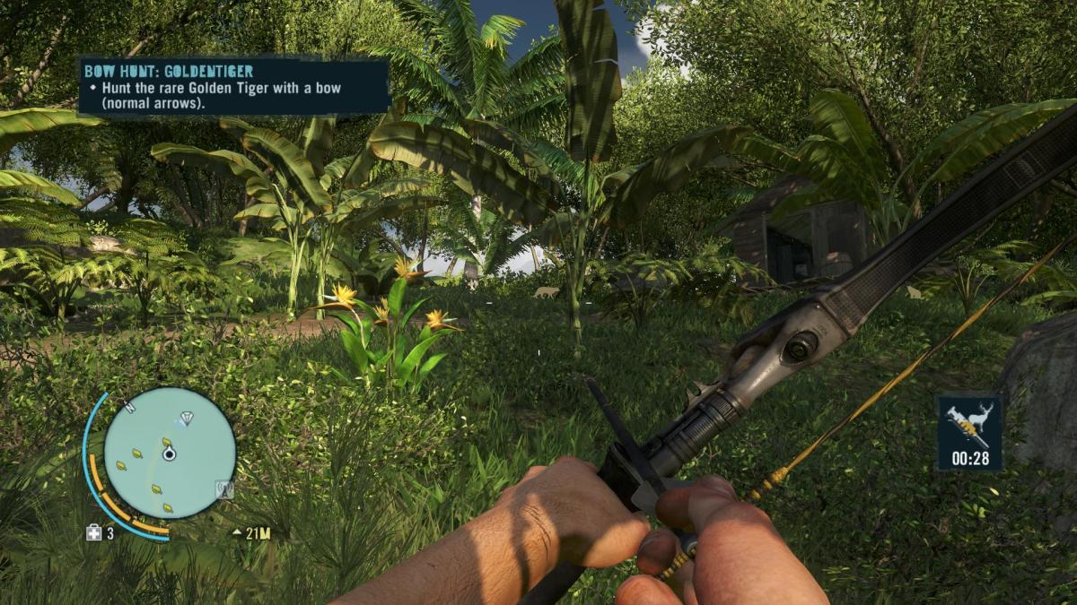 Far Cry 3 Crafting Guide - Extended Syringe Kit: Target Located.