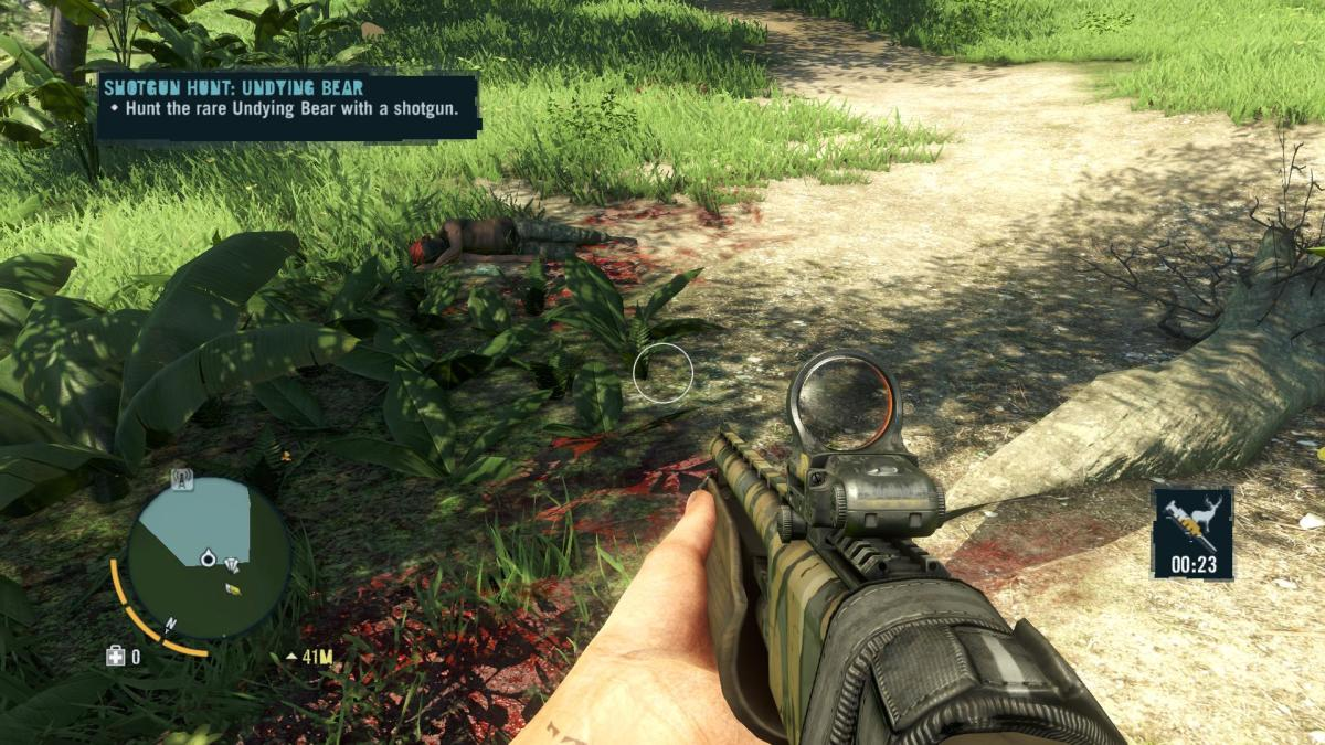 Far Cry 3 Crafting Guide - Extended Rucksack: Uh Oh!