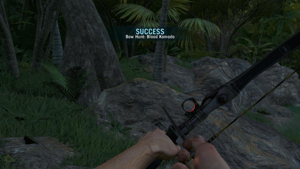 Far Cry 3 Crafting Guide - Extended Grenade Pouch: Success!
