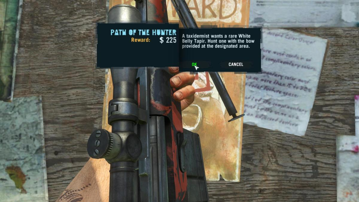 Far Cry 3 Crafting Guide - Extended Munitions Pouch: Wanted Poster.