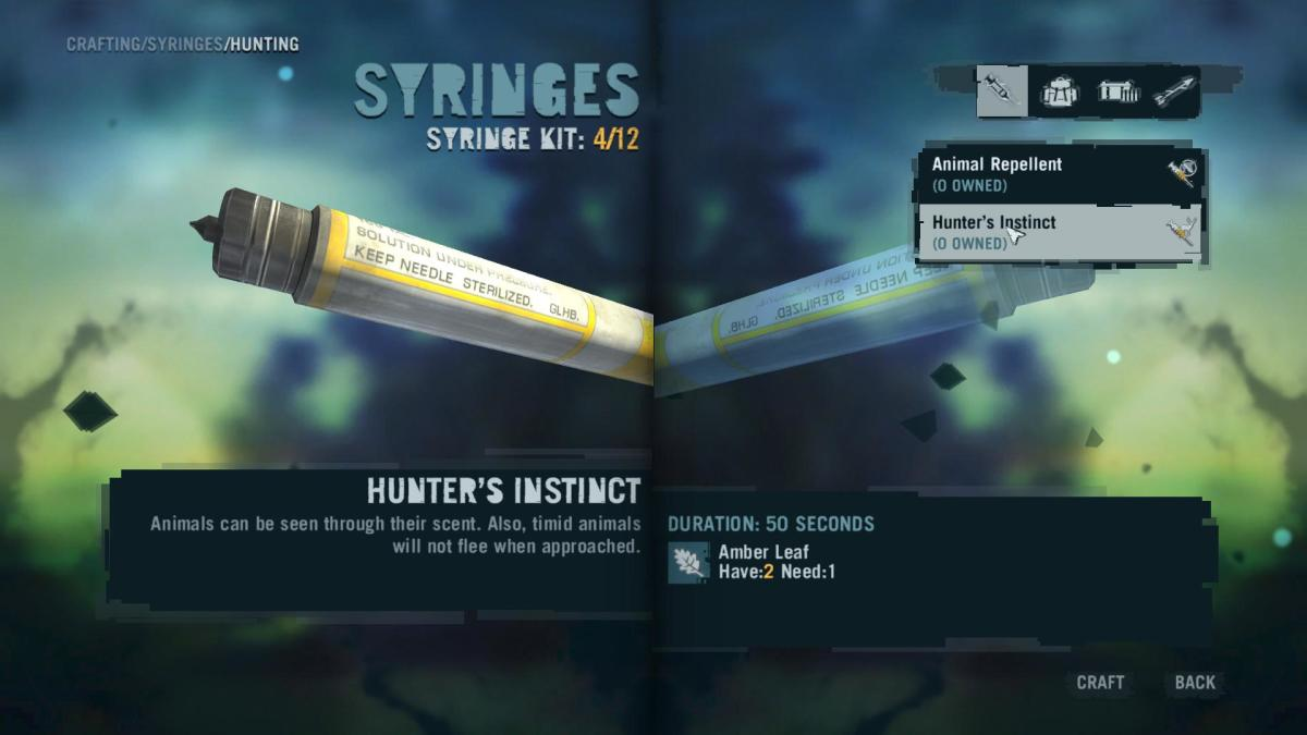 Far Cry 3 Crafting Guide - Extended Grenade Pouch: Useful Syringes!