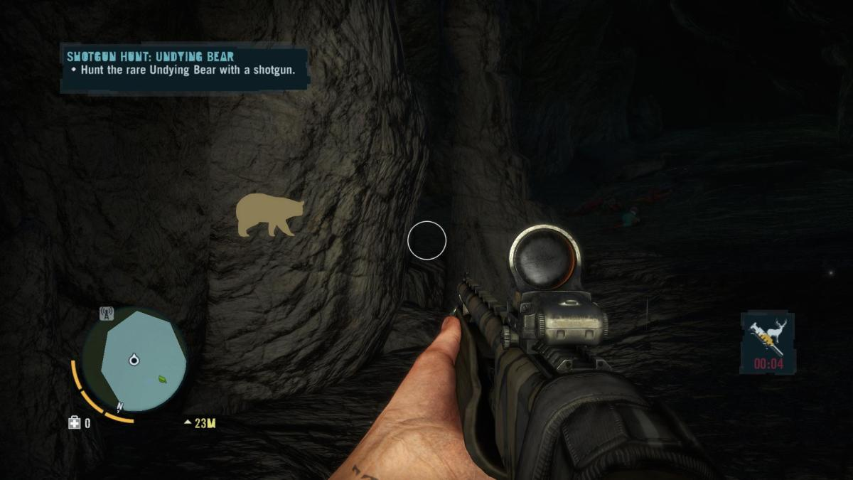 Far Cry 3 Crafting Guide - Extended Rucksack: ...A Dark Maw With a Bear!