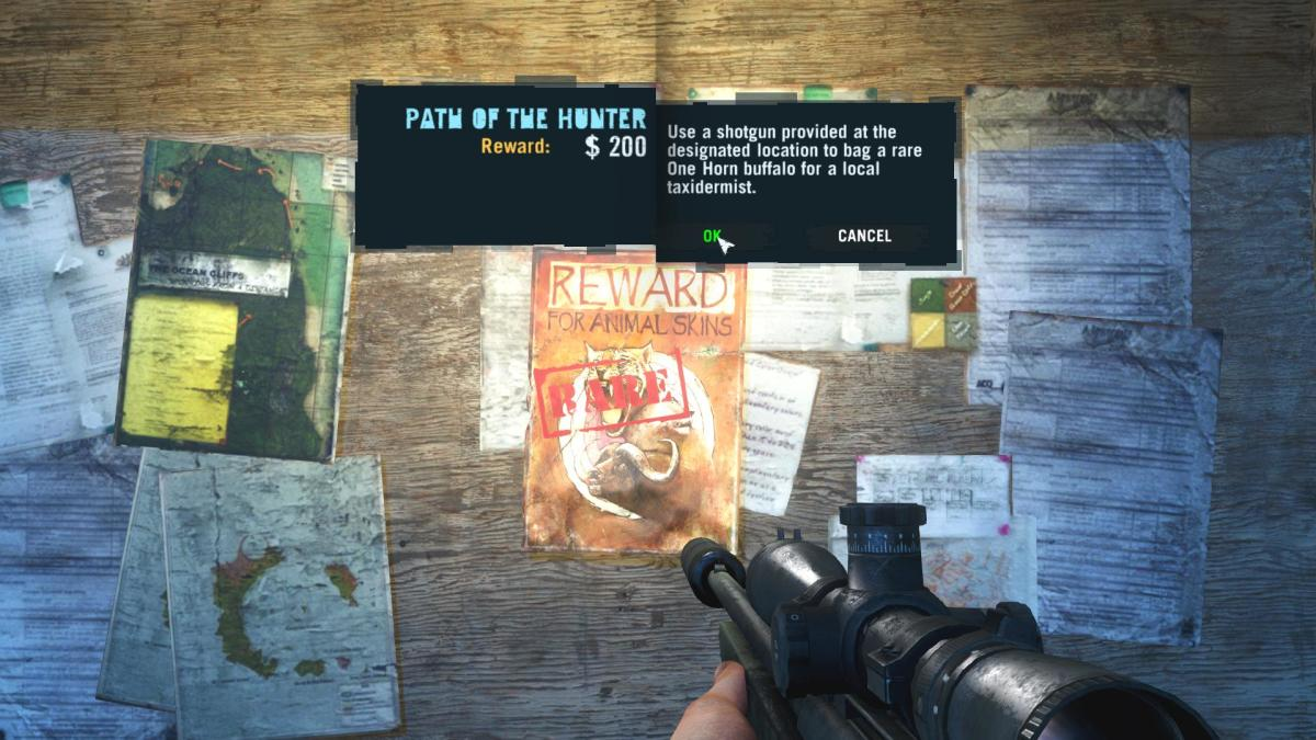 Far Cry 3 Crafting Guide - Extended Wallet - Wanted Poster.