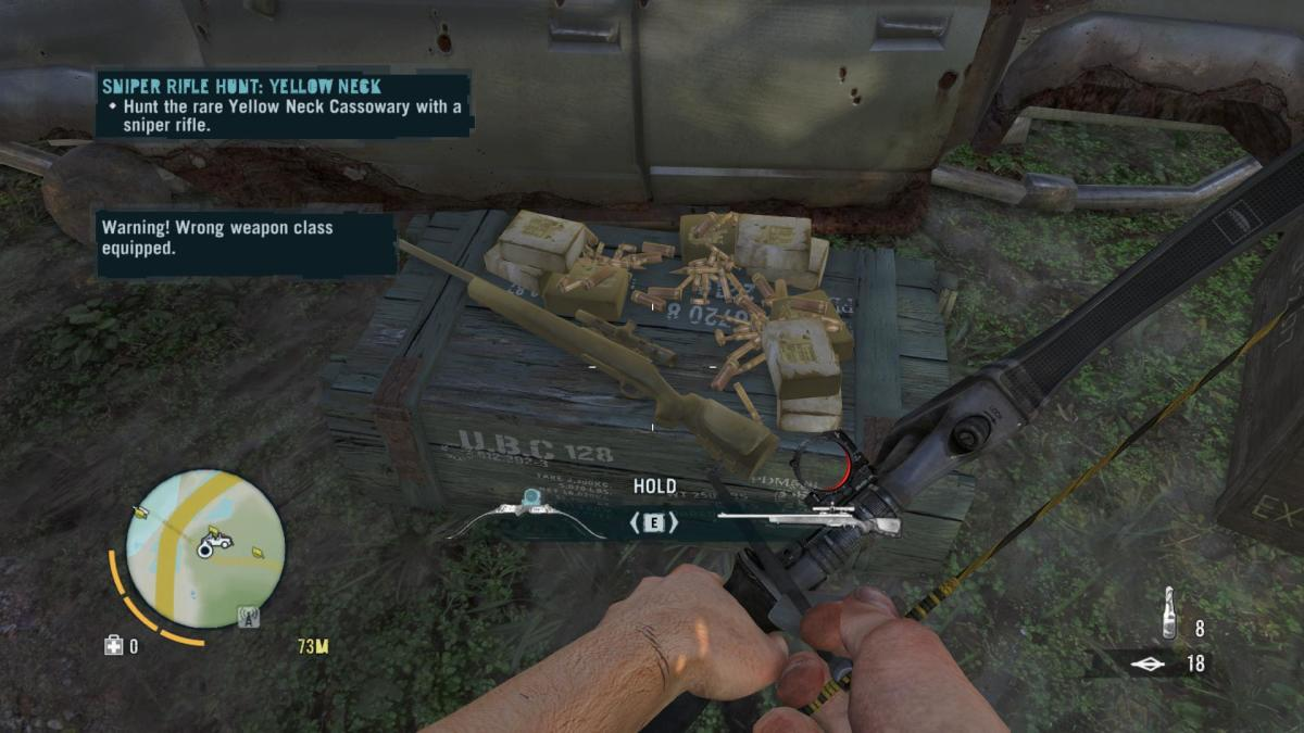 Far Cry 3 Crafting Guide - Extended Fuel Sling: Sniper Rifle!