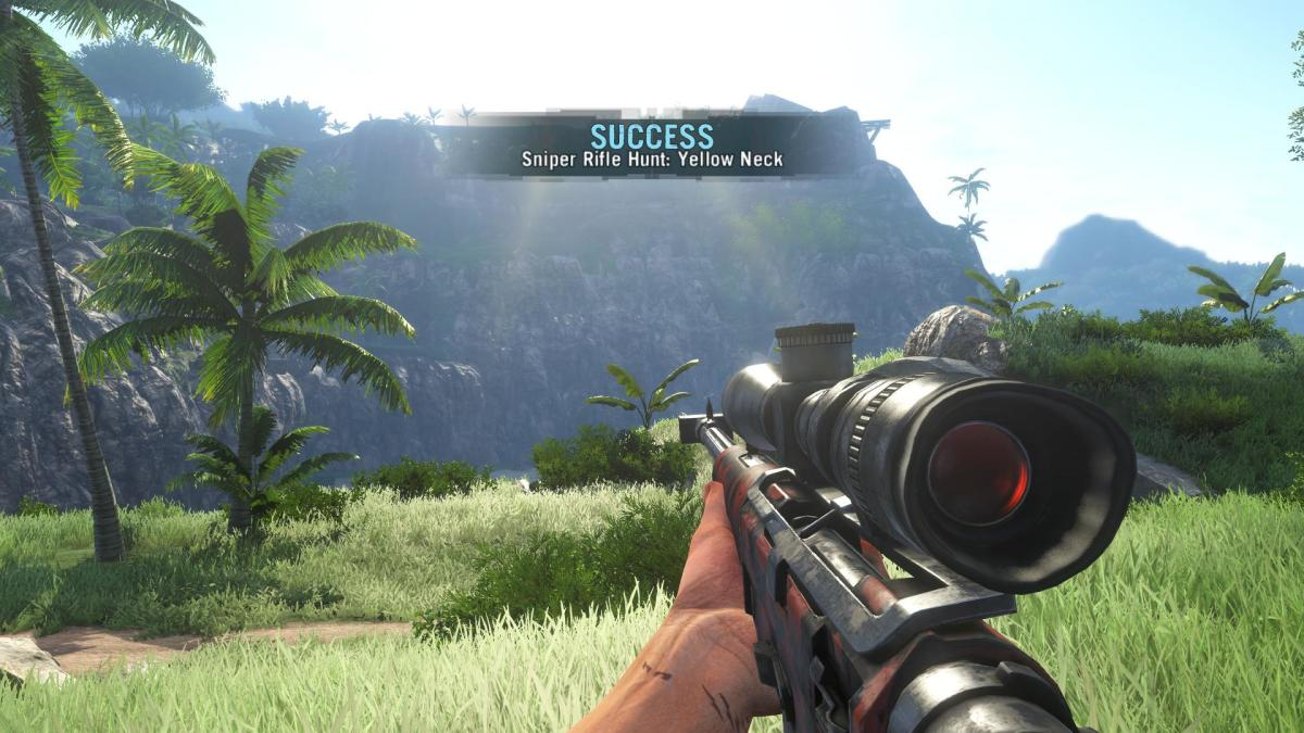 Far Cry 3 Crafting Guide - Extended Fuel Sling: Success!