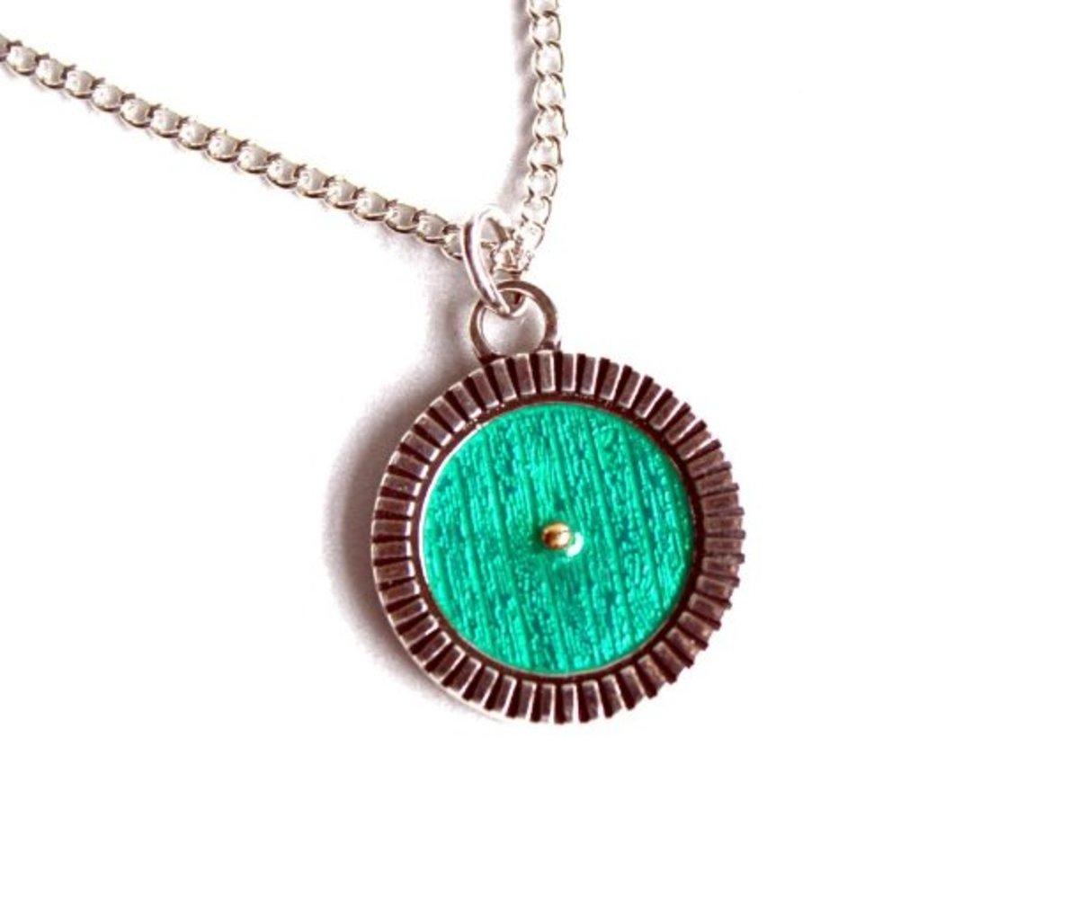 Bag End Door Pendant necklace