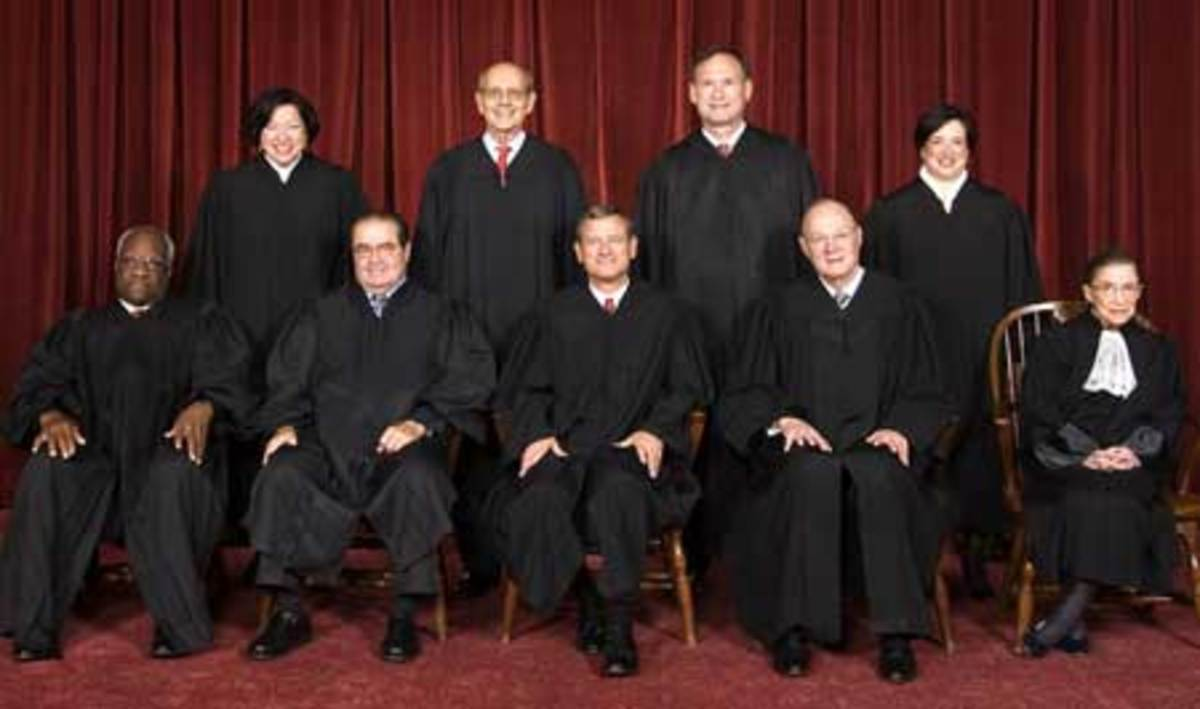 Supreme Court Justices Judicial Branch For Kids