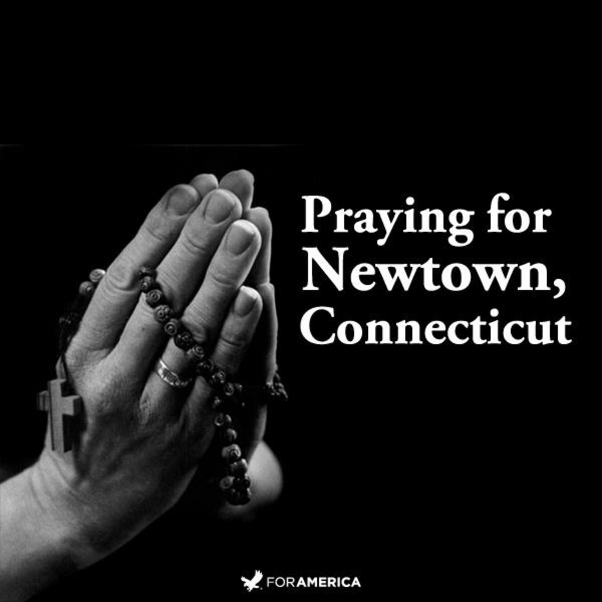 Praying for Newtown Connecticut