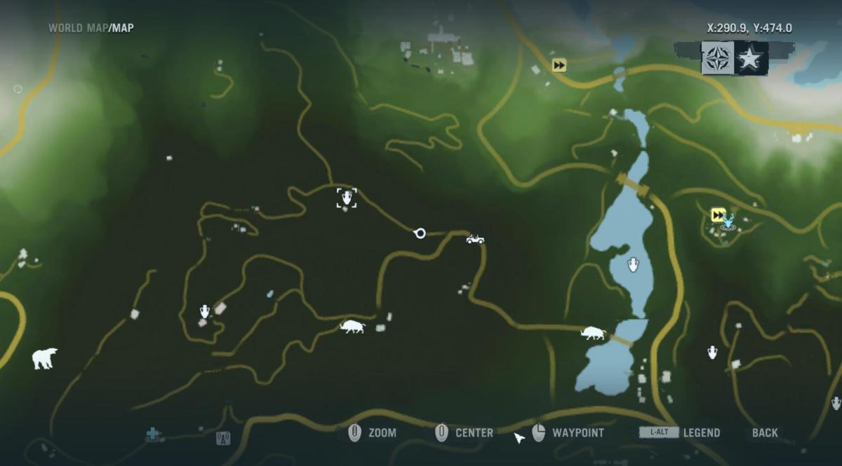Archaeology 101 - Gameplay 01 Map: Far Cry 3 Relic 78, Boar 18.
