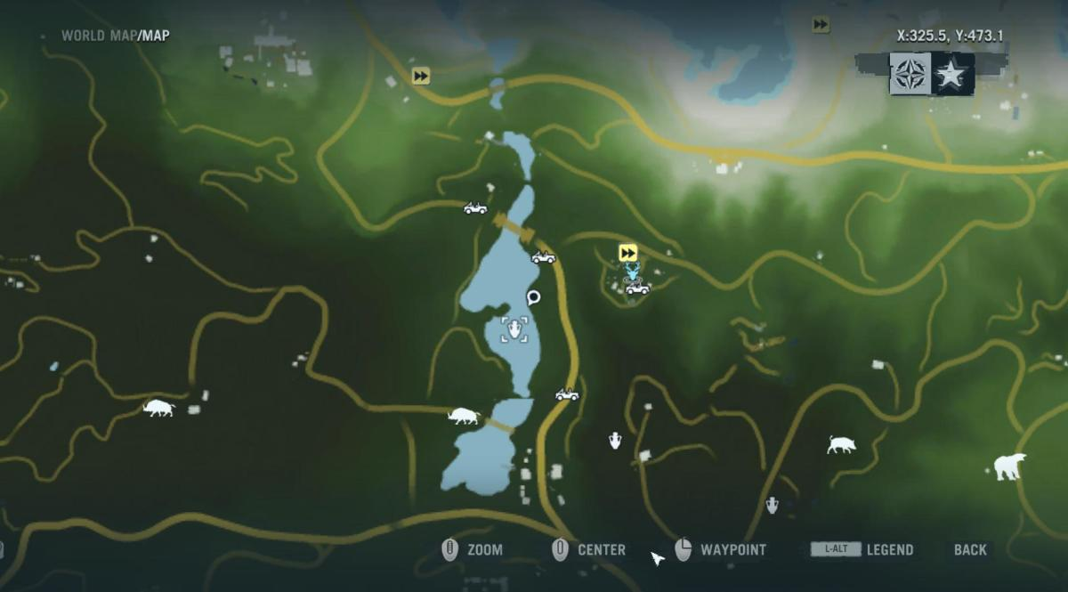Archaeology 101 - Gameplay 01 Map: Far Cry 3 Relic 46, Shark 16.