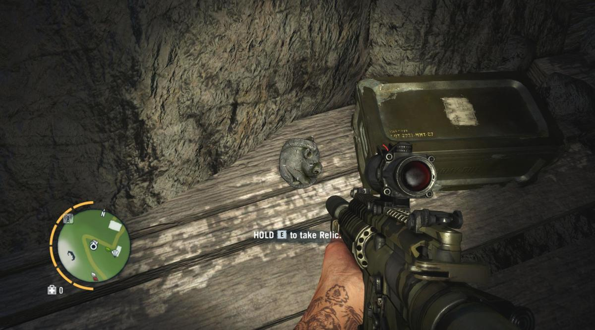 Archaeology 101 - Gameplay 03: Far Cry 3 Relic 79, Boar 19.