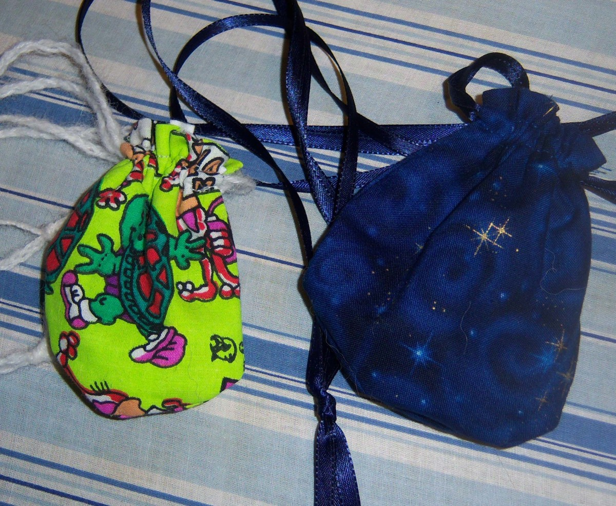 Two different spirit bags.