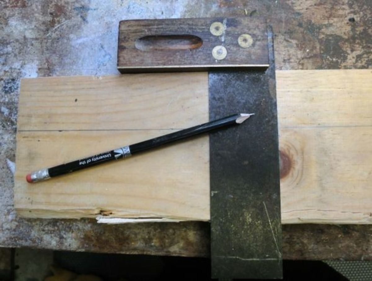 Measuring the wood