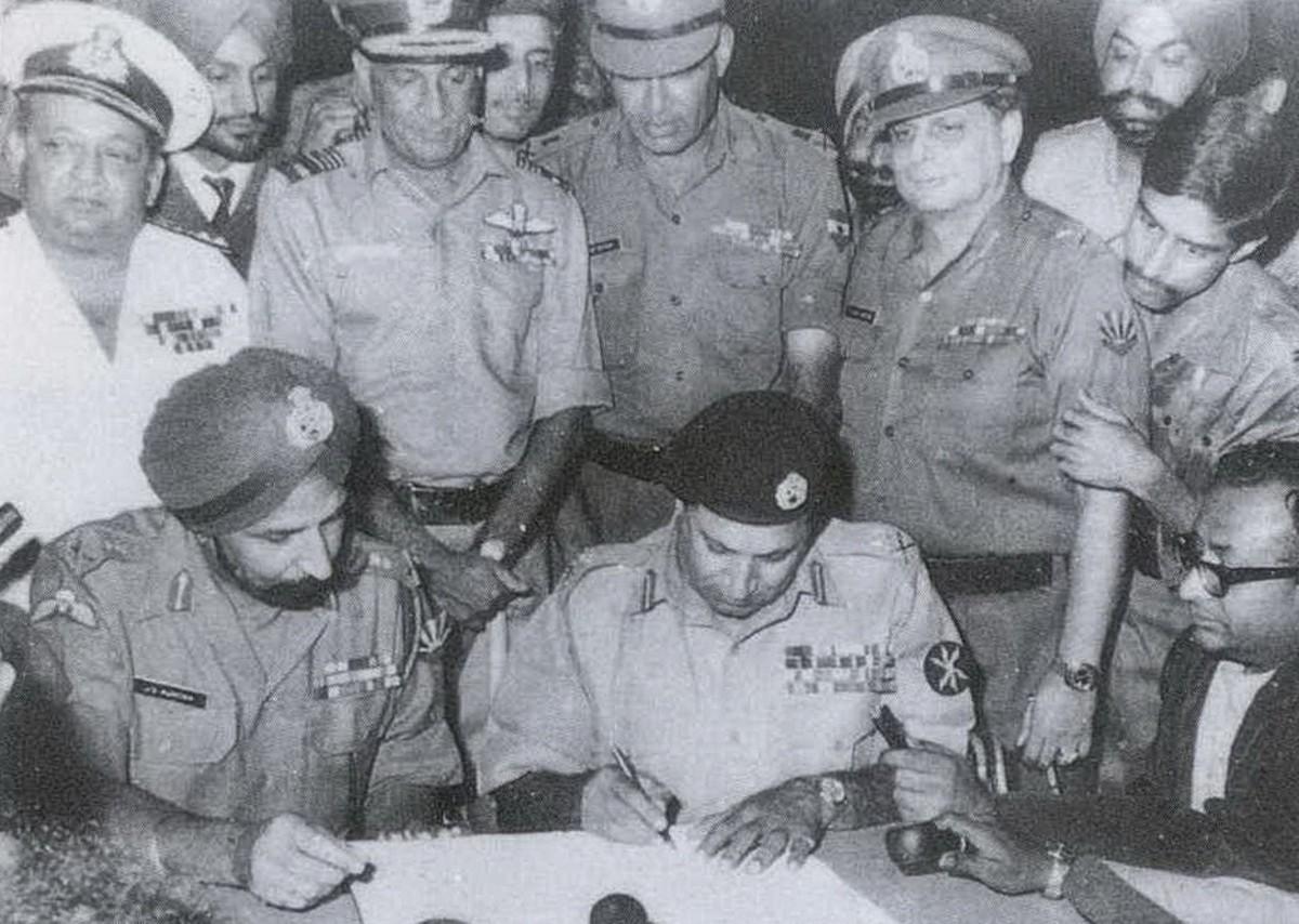 The Story of Pakistan's Surrender in 1971 War