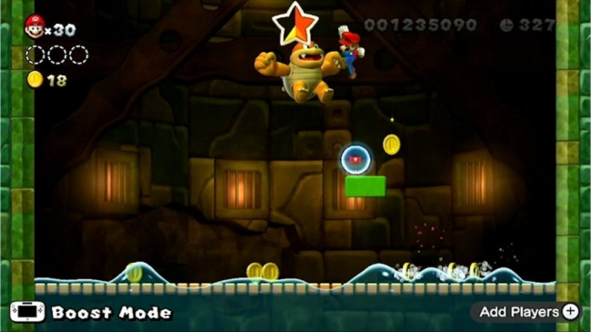 How to beat the bosses of New Super Mario Bros. U