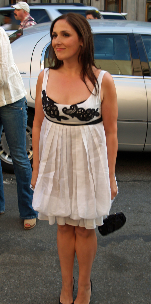 "A much slimmer Ricki Lake at the 2007 premiere of ""Business of Being Born."""
