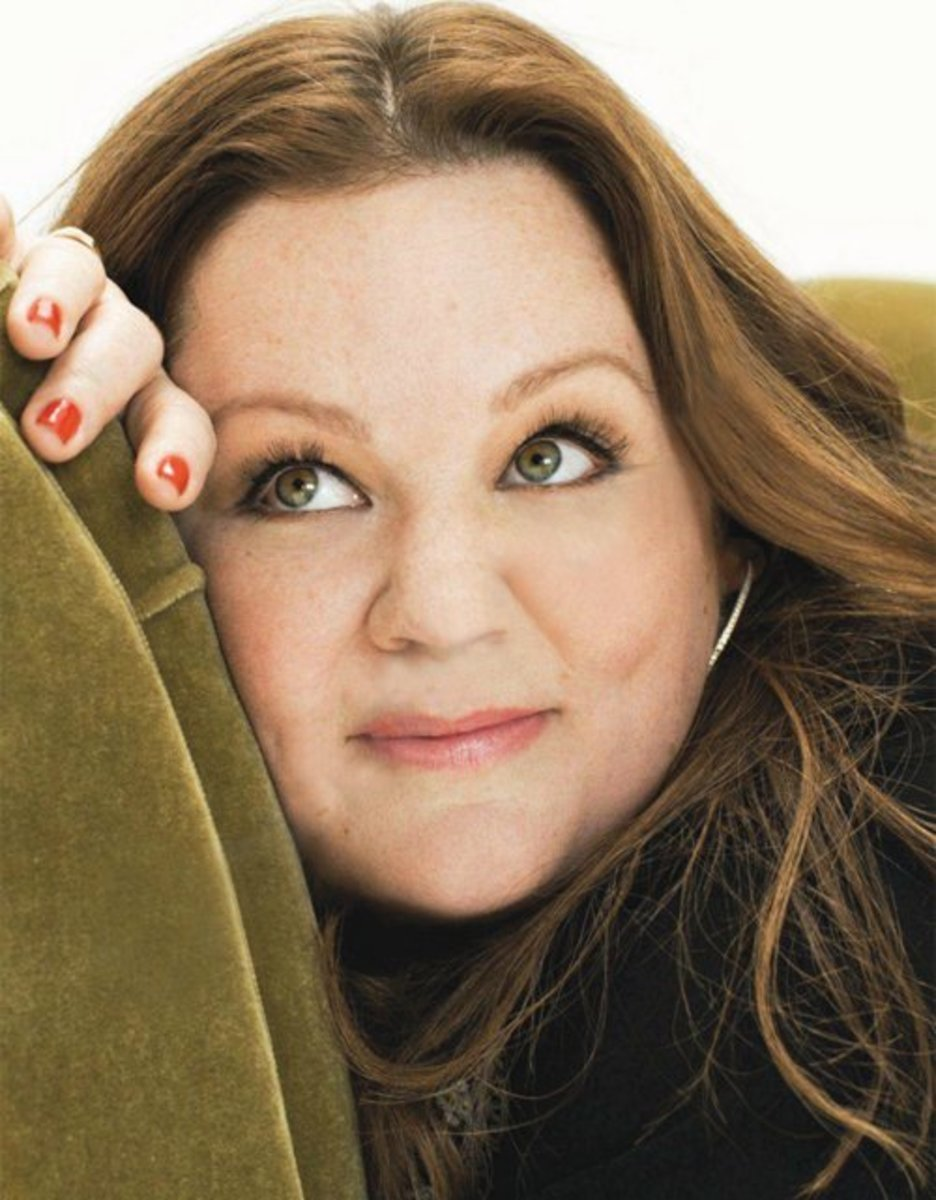 "Plus-sized star of CBS sitcom ""Mike and Molly,"" the beautiful and sparkling Melissa McCarthy. A 2012 article in The Ladies Home Journal icludes an article where this beauty talks about ""Loving Who You Are."""