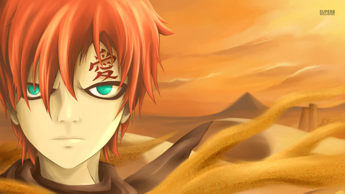 sabaku no gaara (or gaara of the desert)