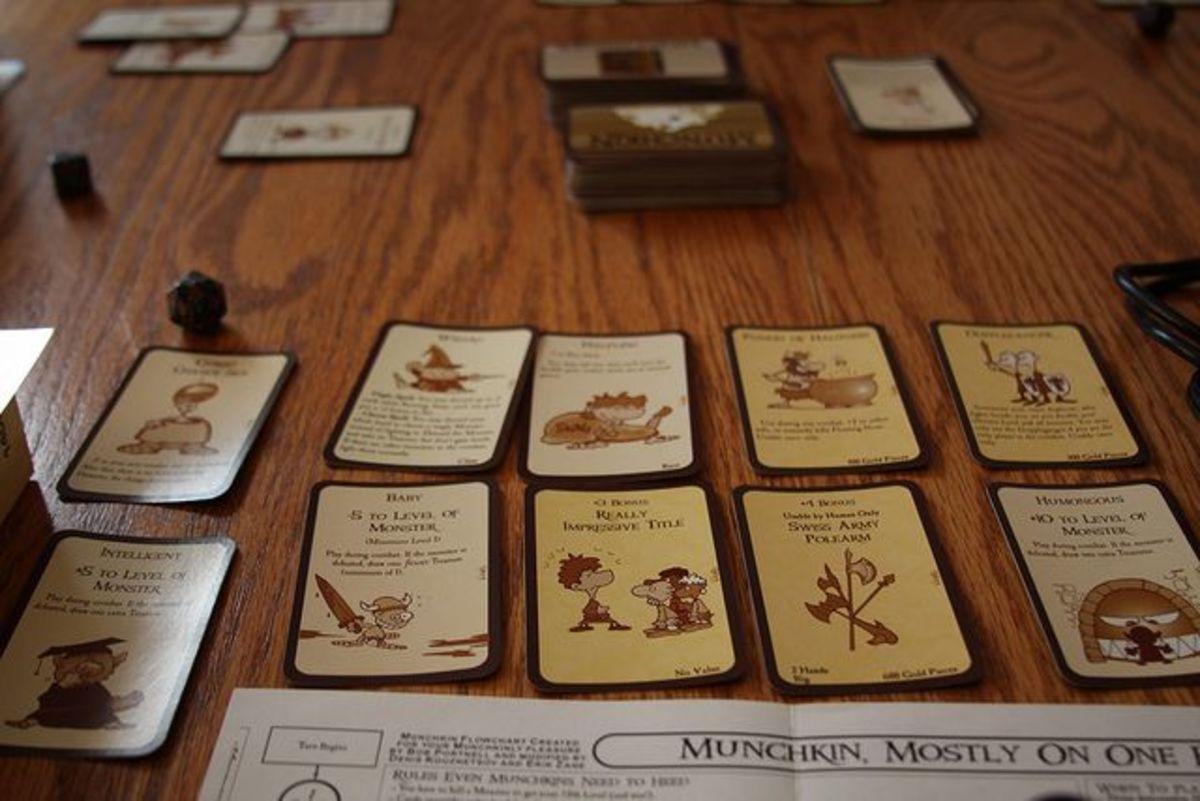 Munchkin game cards