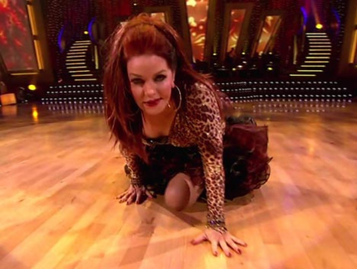 """Recent """"Dancing with the Stars"""" appearance."""