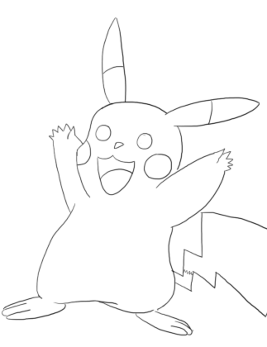 how-to-draw-pikachu