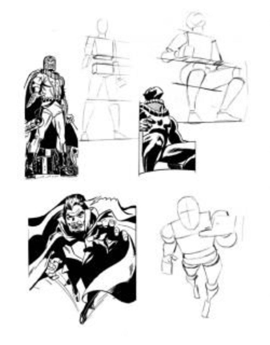 Stan Lee comic drawing book screenshot