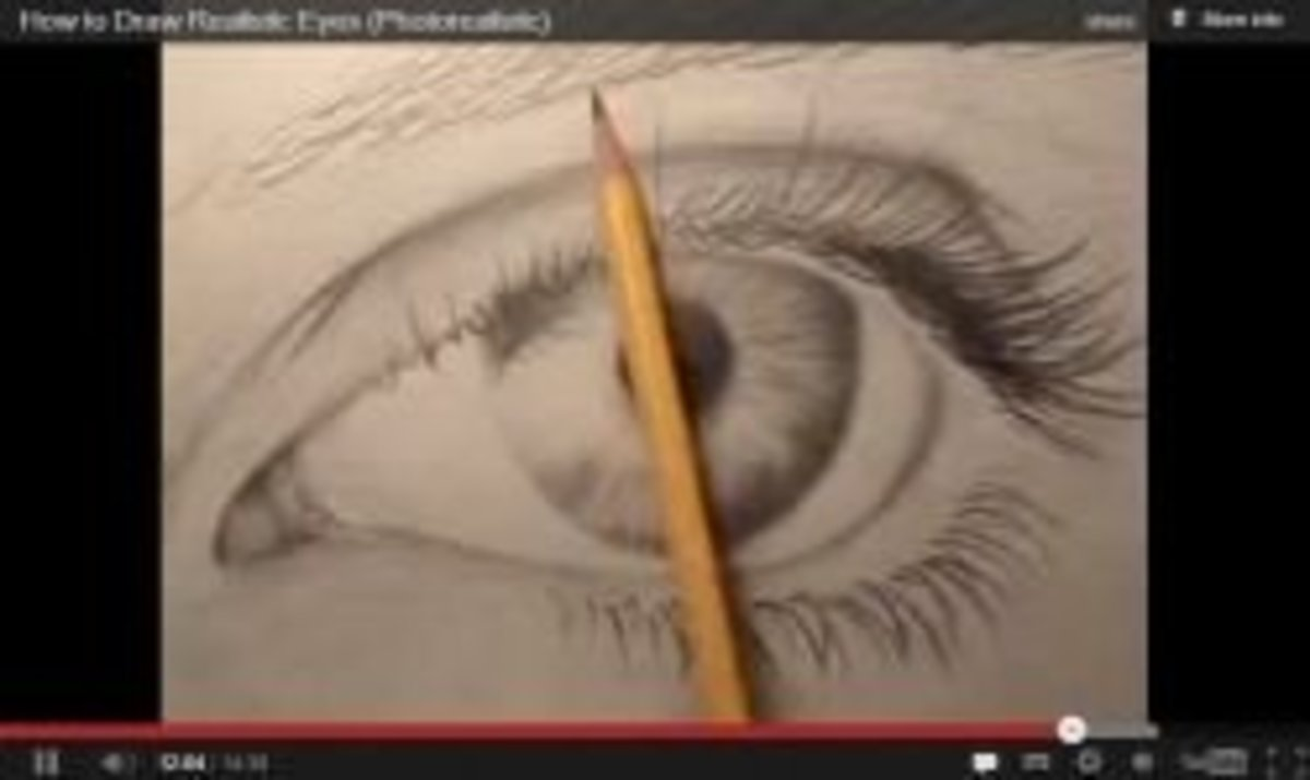 screenshot youtube eye drawing example