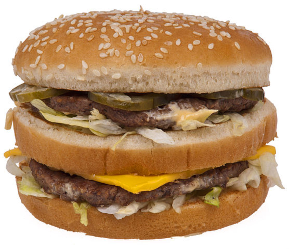 Big Mac weighs in at 550 calories