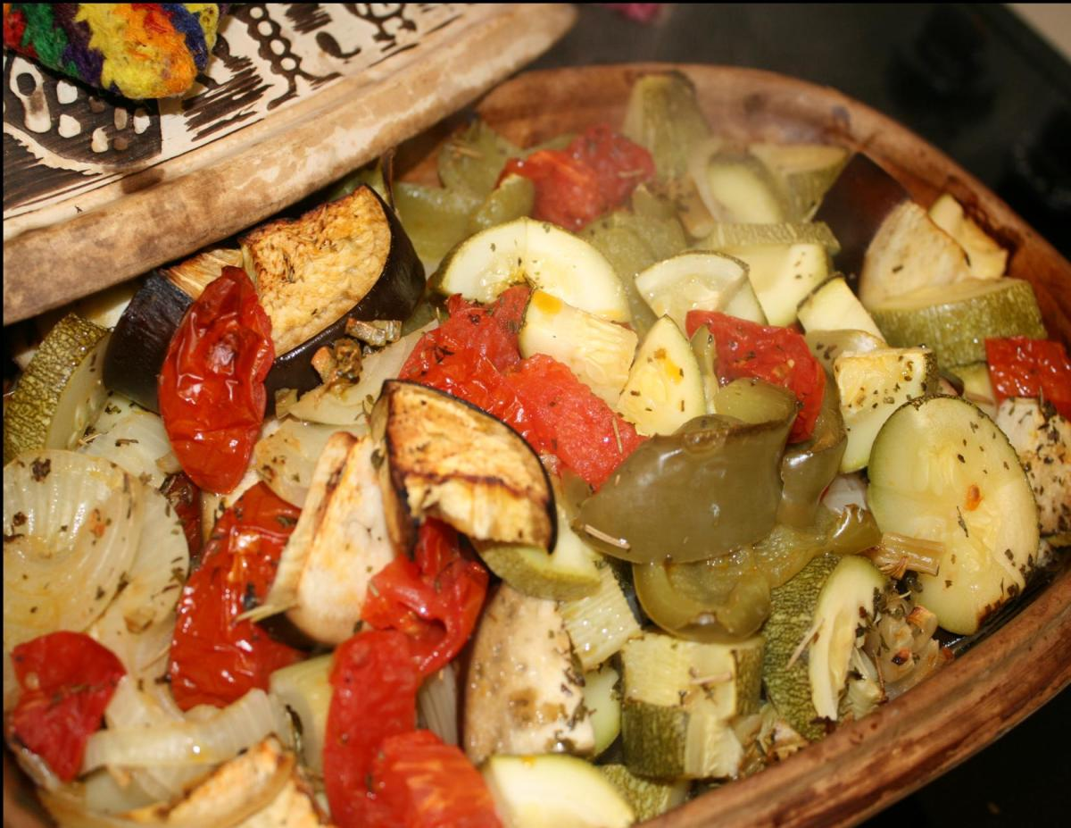 Vegetables in a Clay Pot