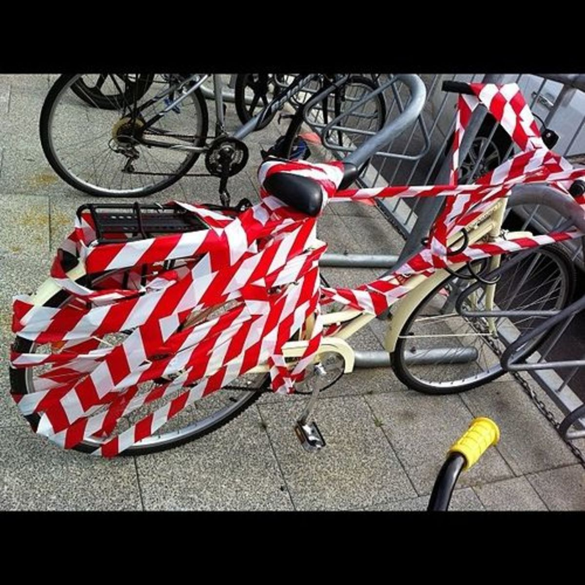 Wrap up the bicycle april fools joke