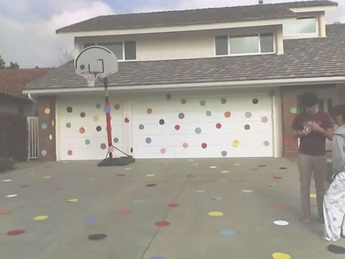 Polka Dot House Prank