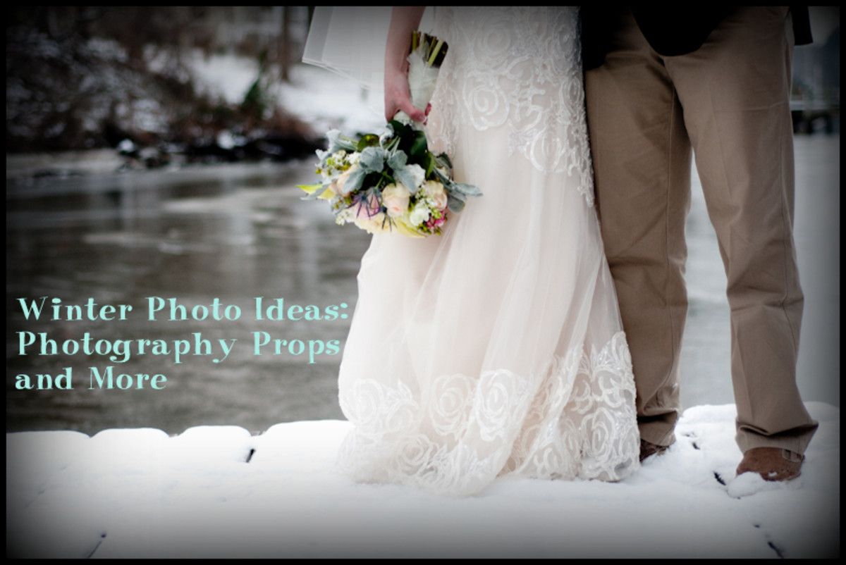 Winter Photo Ideas: Photography Props and More