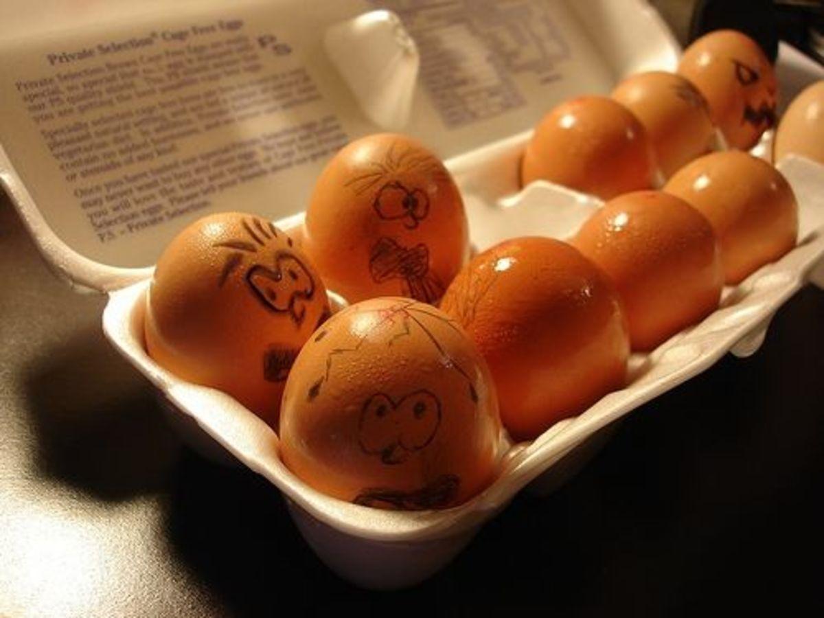Egg Faces Joke