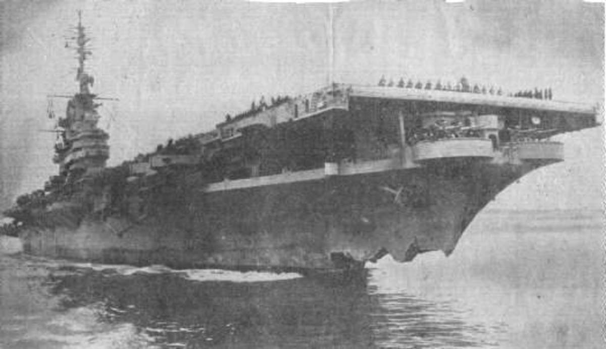 USS Wasp USS Hobson Collision - Worst Peacetime Naval Disaster