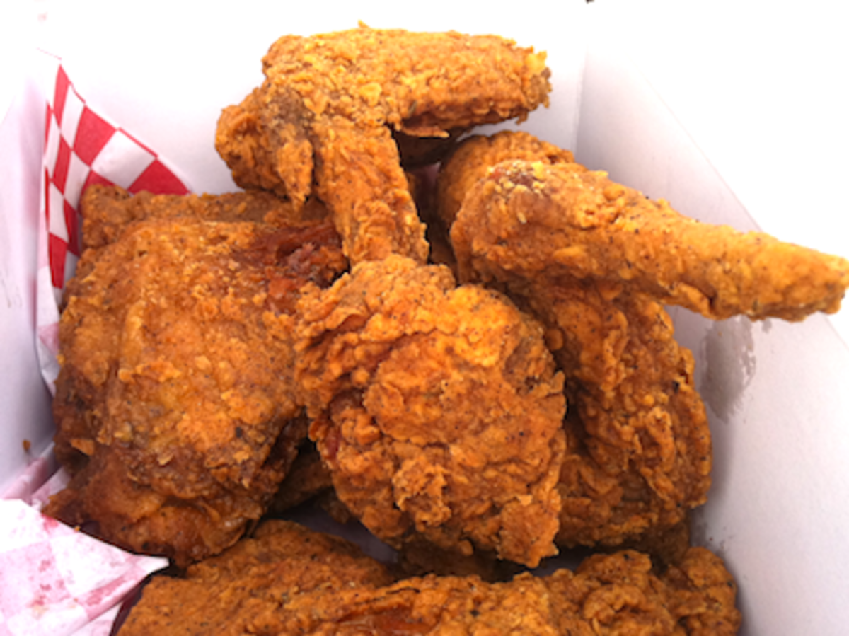 Louisiana Spiced Fried Chicken Recipe