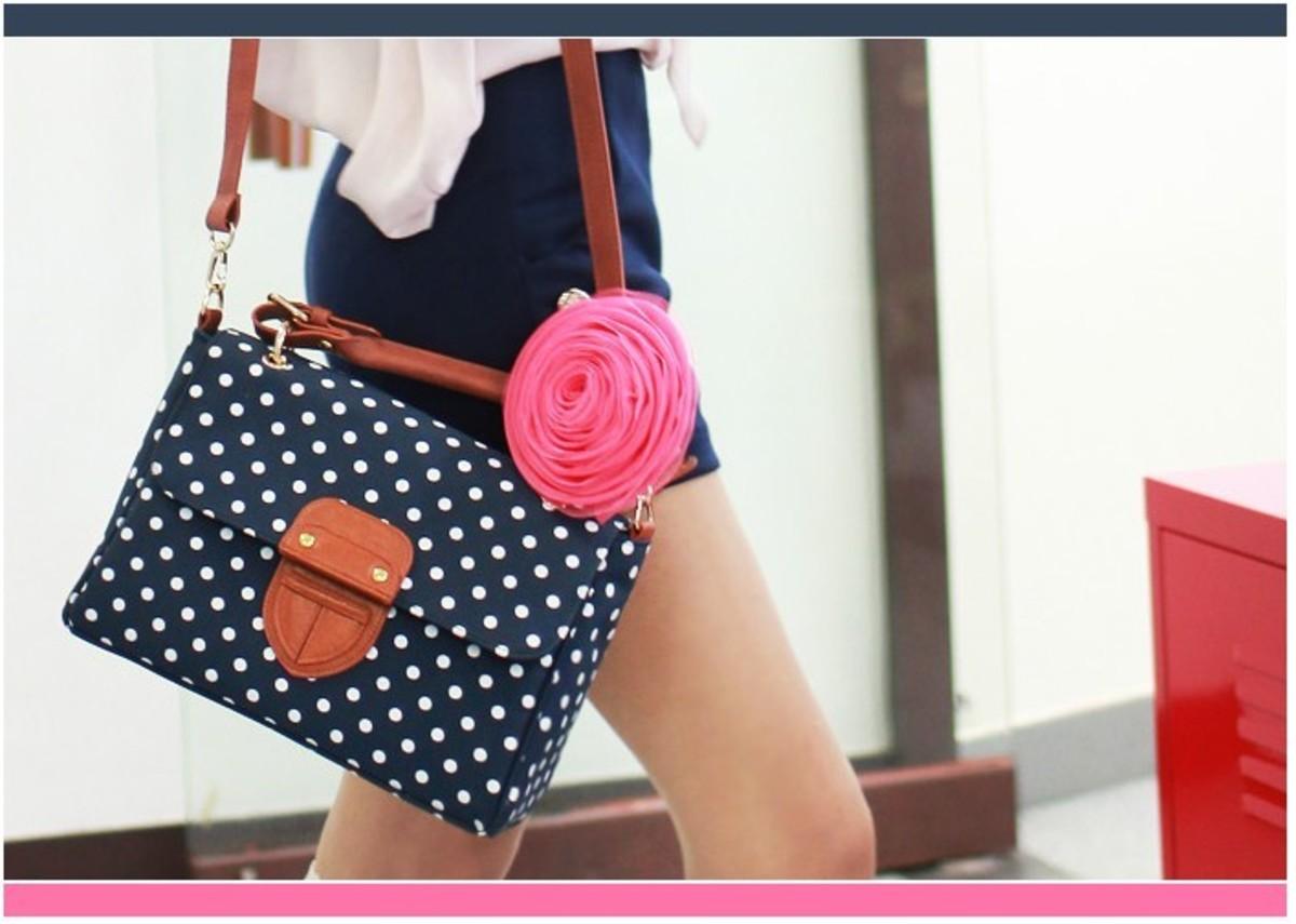 A cute sling bag.