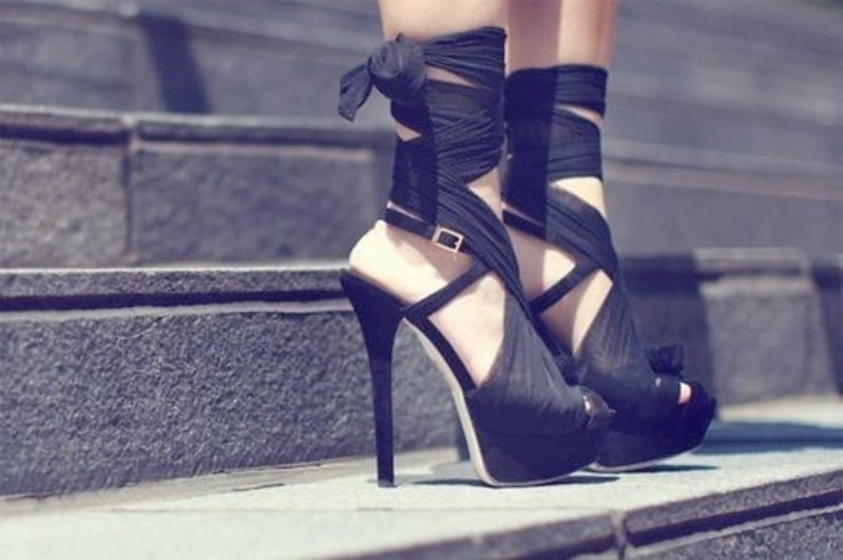 Pretty High Heels Shoes