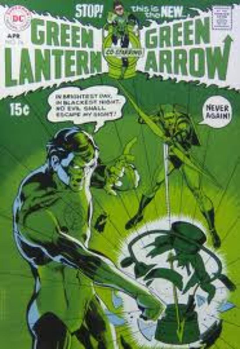 Green Arrow gets his tights in a twist.