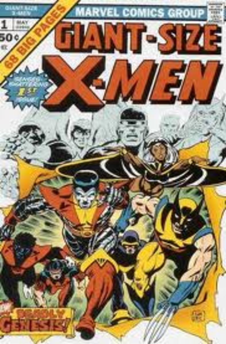 Its the book that's Giant Sized not the X-Men.