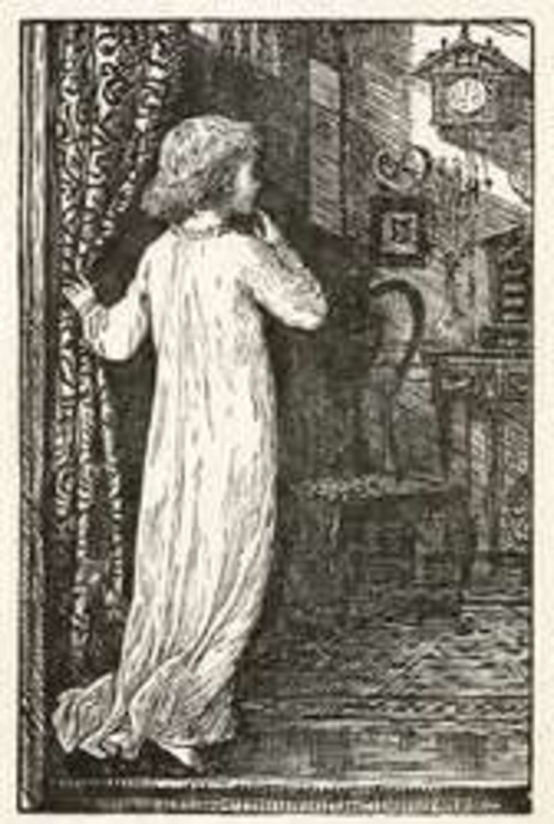 Illustration from The Cuckoo Clock (for more just click)