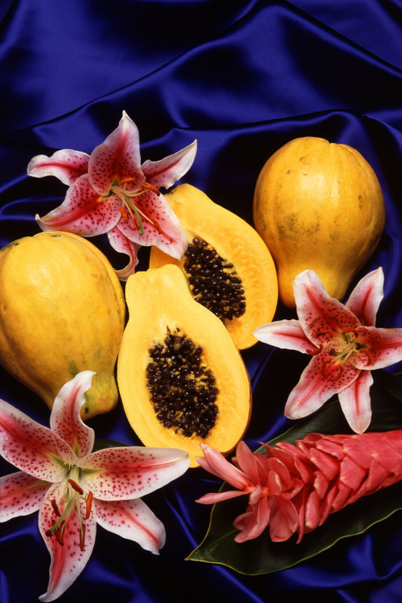 making your own papaya & pumpkin facial products is easily achievable.