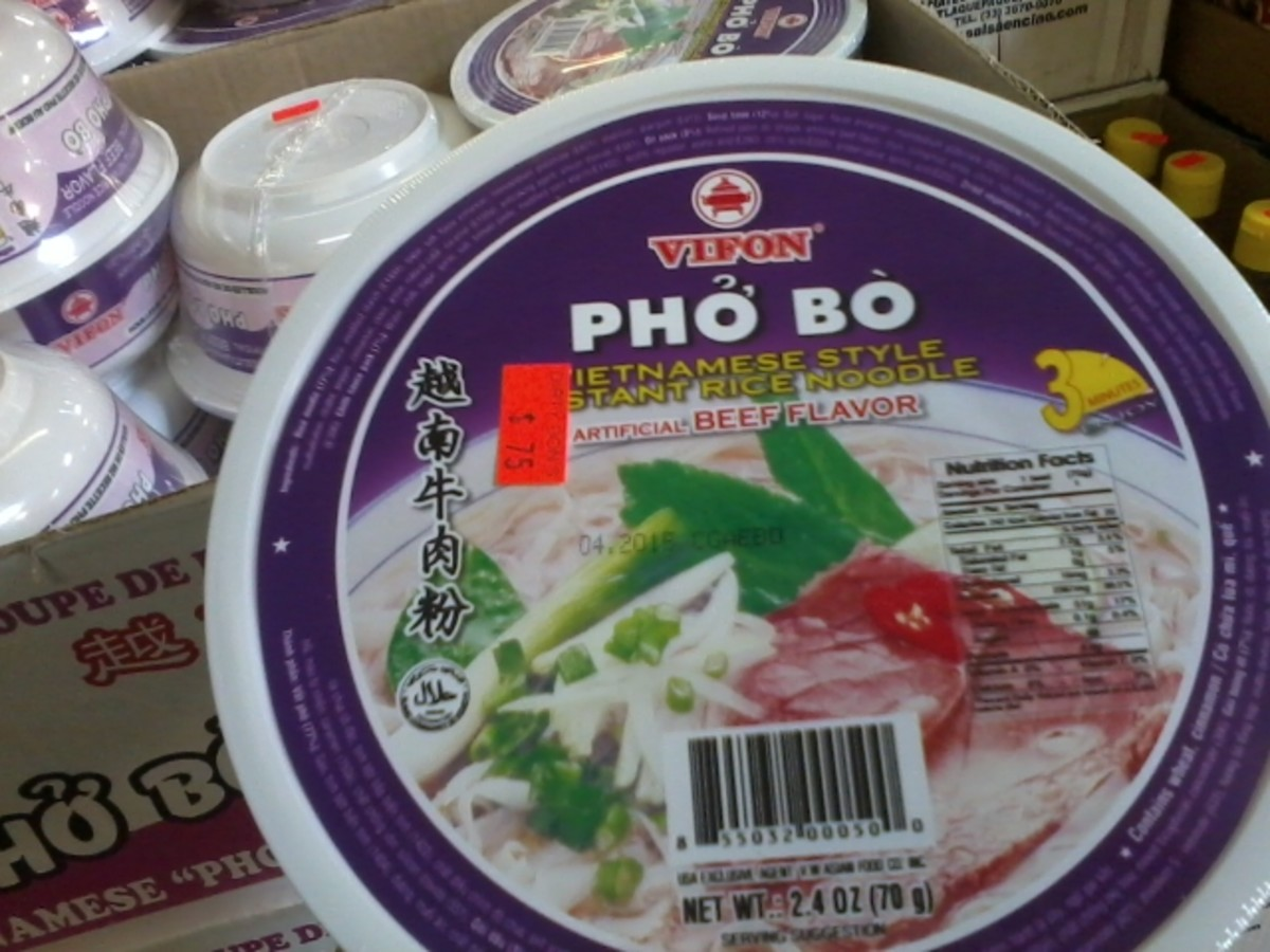 "This ""Pho Bo"" is an example of the many unusual products you can find at Dirty Don's Bargain Center (yes, I'm aware Pho is pronounced more like ""Phuh"")."